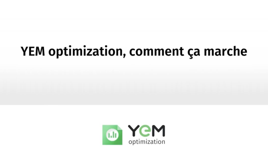 YEM optimization contrats d'énergie